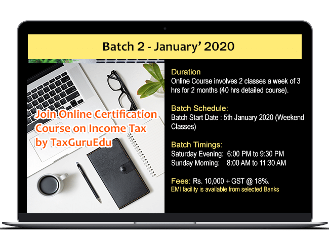 best income Tax Course 2020