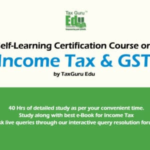 Best GST, income Tax course Combo