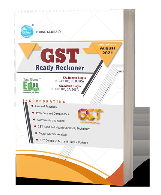 Best GST Book - GST Ready Reckoner by CA Raman Singla